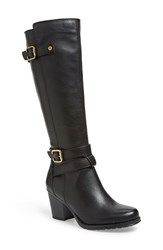 Women's Naturalizer 'Tricia' Tall Boot Camel Wide Calf