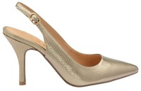 Ravel Kinney Slingback Court Shoes Metallic
