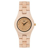 Wewood Moon Crystal Watch Beige