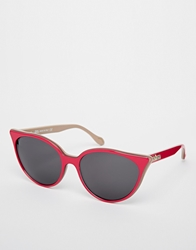 Vivienne Westwood Cat Eye Sunglasses Pink