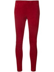 Stouls Skinny Leggings Red