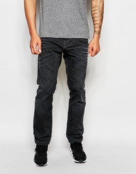 Jack And Jones Jack And Jones Washed Grey Jeans In Anti Fit