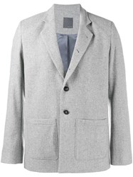 Lot 78 Lot78 Single Breasted Blazer Grey