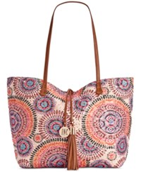 Inc International Concepts Kyli Sequins Large Tote Only At Macy's Pink Multi