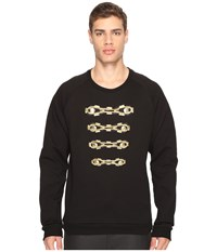 Balmain Military Sweatshirt Black
