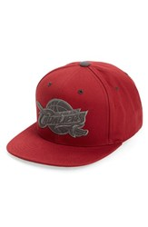 Men's Mitchell And Ness 'Cleveland Cavaliers' Team Logo Snapback Cap