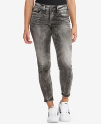 Silver Jeans Co. Avery Ankle Skinny Black