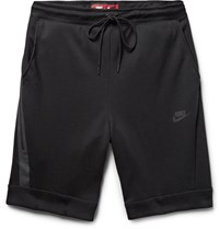 Nike Cotton Blend Tech Fleece Shorts Black