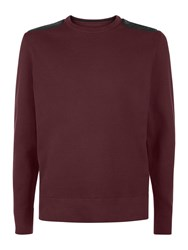 Victorinox Constable Crew Neck Jumper Purple