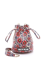 House Of Holland Mini Bucket Bag Flower Wallpaper