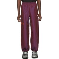Adidas By Alexander Wang Originals Purple You For E Yeah Exceed The Limit Track Pants