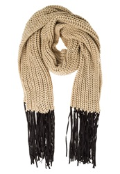 Only April Scarf Warm Sand Light Brown