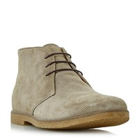 Linea Coop Casual Lace Up Boots Stone