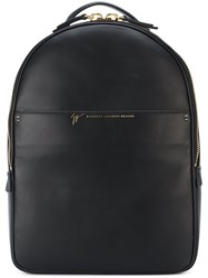 Giuseppe Zanotti Design Classic Backpack Black