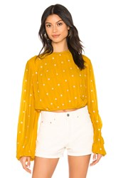 Beach Riot Maddy Top Yellow