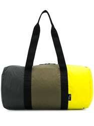 Herschel Supply Co. Paneled Holdall Yellow
