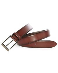 Hugo Hugo Boss Burgundy Gamal Patent Leather Belt