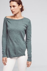 Anthropologie Coffee Shop Tee Green