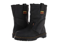 Dr. Martens Work 2295 St Im Wellington Black Industrial Greasy Men's Work Pull On Boots Gray