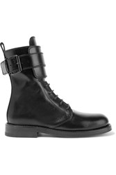 Ann Demeulemeester Leather Boots Black