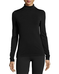 Wolford Luxe Turtleneck Pullover Black