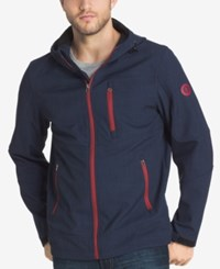 G.H. Bass And Co. Men's Big And Tall Lightweight Zip Up Jacket Night Sky