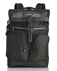 Tumi London Roll Top Backpack Black