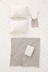 Urban Outfitters T Shirt Heathered Jersey Duvet Snooze Set Grey