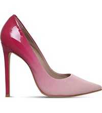 Carvela Alice Patent Leather Courts Pink Comb