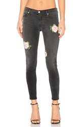 Hudson Jeans Nico Midrise Ankle Skinny Confronted