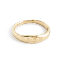 J.Crew James Colarussotm 13 Stacking Ring Yellow Gold