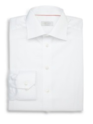 Eton Of Sweden Contemporary Fit Solid Dress Shirt White