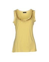 Diana Gallesi Topwear Vests Women Yellow