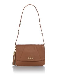 Biba Sarah Shoulder Handbag Tan