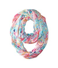 Lilly Pulitzer Riley Infinity Loop Multi Peel And Eat Scarves