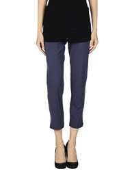 Niu' Trousers Leggings Women Dark Blue
