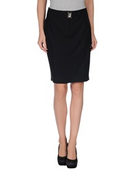 Cristinaeffe Knee Length Skirts Black