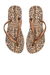 Havaianas Slim Animals Metallic Copper