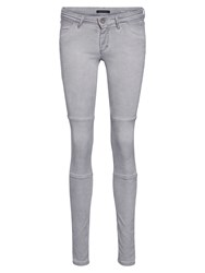 Marc O'polo Skara Quilt Jeans In Snuggle Stretch Grey