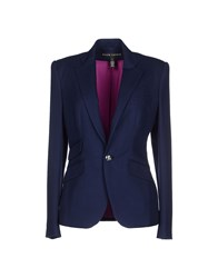 Ralph Lauren Black Label Suits And Jackets Blazers Women Dark Blue