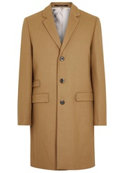 Tiger Of Sweden Dempsey Camel Wool Blend Coat