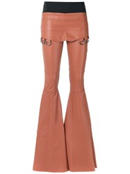 Andrea Bogosian Leather Trousers Women Leather G Brown