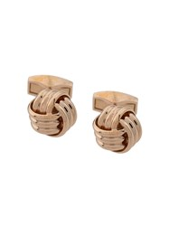 Tateossian Knotted Cufflinks Gold