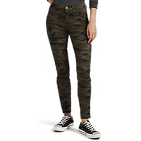 Nsf Victoria Camouflage Skinny Jeans Green