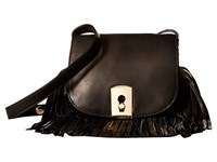 Botkier Clinton Fringe Crossbody Black Cross Body Handbags