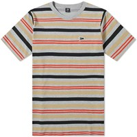 Patta Double Stripe Tee Grey