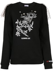Red Valentino Printed Detail Jumper 60