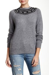 Acrobat Fitted Raglan Pullover Gray