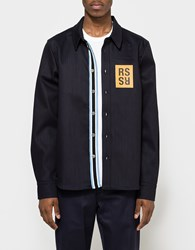 Raf Simons Slim Fit Jeans Shirt Dark Navy
