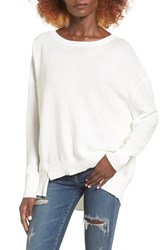 Leith Women's Slouchy Cotton Sweater
